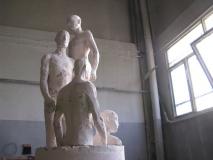 Plaster model